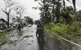 Bão Vongfong tàn phá nặng nề nhiều thị trấn của Philippines