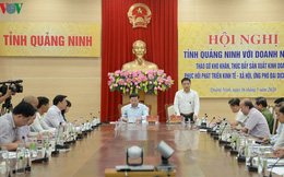 Quảng Ninh tiếp xúc trực tuyến tháo gỡ khó khăn cho doanh nghiệp