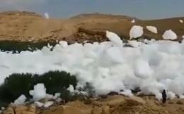 Kỳ lạ đám mây rơi xuống mặt đất