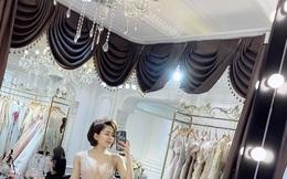 Hotgirl Trâm Anh bất ngờ đăng ảnh thử váy cưới, công bố sẽ kết hôn?