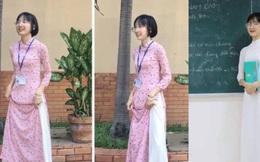 Bị học sinh và dân mạng chỉ trích vì diện áo dài lại mang sneaker khi đi dạy, cô giáo Sư phạm lên tiếng giải thích
