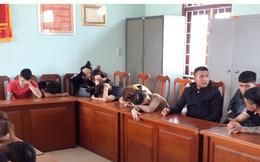 Đột kích khách sạn bắt giữ 18 đối tượng sử dụng trái phép chất ma túy