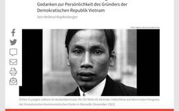 Nhân cách Hồ Chí Minh trong trái tim của một nhà báo Đức