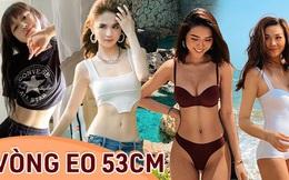 Điểm danh 4 mỹ nhân Việt đang sở hữu 'vòng eo 53cm': từ siêu mẫu đến Hoa hậu, ca sĩ đều có đủ cả