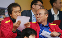 Thầy Park dự khán trận đấu giữa Nam Định và HAGL