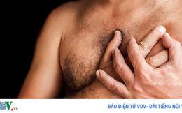 8 dấu hiệu đáng ngạc nhiên của ung thư vú ở nam giới