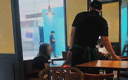 Cô gái ngồi cà phê cả buổi chỉ để chờ bạn trai làm bồi bàn tan ca, chuyện như tiểu thuyết ngôn tình ấy thế mà lại là sự thật