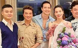 Hà Hồ rạng rỡ lộ diện bên Kim Lý ở tháng thứ 3 song thai, kiên quyết giấu bụng bằng cách quen