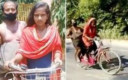Con gái đạp xe 1.200km chở cha bị thương về quê và câu chuyện xúc động đằng sau