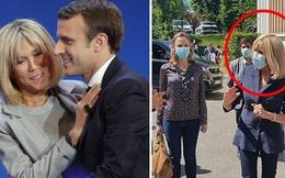Đệ nhất phu nhân Pháp tái xuất sau một thời gian ở ẩn với vẻ ngoài là tâm điểm thu hút sự chú ý