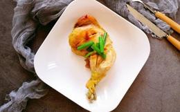 Dùng nồi cơm điện nướng gà thì vừa nhàn lại vừa có món ngon mới toanh ăn tối