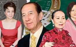 """""""Hậu cung"""" 3 bà vợ, 14 người con và gia sản 1,5 triệu tỷ đồng của trùm sòng bạc Macau 98 tuổi vừa qua đời"""