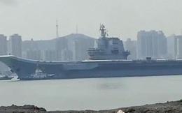 Tàu sân bay Sơn Đông bất ngờ ra khơi, tham gia tập trận ở Biển Đông?