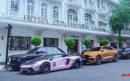 Dàn siêu xe, siêu sang trị giá gần 100 tỷ đồng tụ họp gây náo loại Sài Gòn