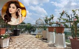 Vườn hồng khoe sắc ngọt ngào trên sân thượng của biệt thự xây trên mảnh đất 1300m² của cựu siêu mẫu Vũ Thu Phương ở Quận 2, Sài Gòn
