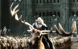 """Thú cưỡi của Thranduil trong """"The Hobbit"""" là hoàn toàn có thật?"""