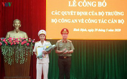Đại tá Võ Đức Nguyện giữ chức Giám đốc Công an Bình Định