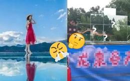 Dân mạng Trung Quốc phẫn nộ vì thắng cảnh tựa thiên đường nhưng sự thật là mấy tấm gương chắp vá