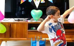 Thu Minh khoe con trai tròn 5 tuổi, gương mặt lai Tây của cậu bé đặc biệt gây chú ý
