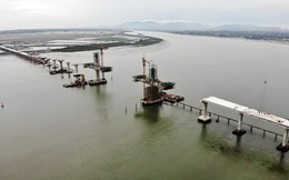Khám phá cầu đường bộ dài nhất miền Trung nối Nghệ An và Hà Tĩnh