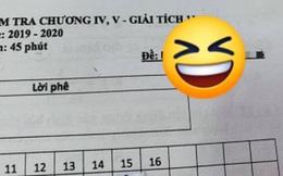 Nhìn vào mã đề bài kiểm tra toán 1 tiết, cả lớp cười ngất vì độ bắt trend của thầy quá nhanh và quá đỉnh