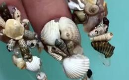 Chán kiểu móng tay đẹp quyến rũ, cặp chị em thợ làm nail sáng tạo ra bộ móng nguy hiểm, nhìn thôi cũng đủ sợ
