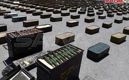 Cận cảnh kho vũ khí về tay quân đội Syria