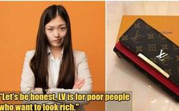 Cô gái chán nản vì được bạn trai tặng ví LV giá 11 triệu đồng
