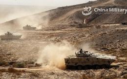 Quân đội Trung Quốc tập trận lúc 1 giờ sáng ở độ cao 4.700 m