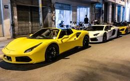 Dàn siêu xe và xe thể thao hội ngộ lúc nửa đêm, thành lập nhóm siêu xe thứ 2 tại Việt Nam
