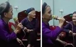 Cụ bà U90 ngồi hát karaoke khiến ai cũng phải sốc vì chất giọng quá cao và khỏe