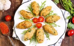 Bánh cá khoai tây thơm giòn dụ bé ăn cá thật ngon!