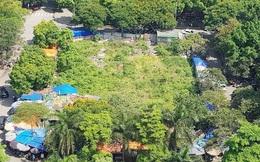 Cận cảnh ô 'đất vàng' dịch vụ cuối cùng đô thị mẫu Hà Nội bỏ hoang 20 năm