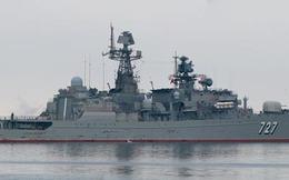 Nga điều tàu chiến tới giáp Syria