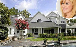 Biệt thự xa hoa của Kelly Clarkson được rao bán 1.495 đô