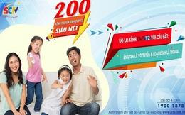 SCTV triển khai 200 kênh truyền hình chọn lọc, chất lượng cao chuẩn DVB-T2