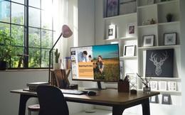 Decor nhà tối giản chỉ với một siêu màn hình thông minh 'làm - học - chơi'