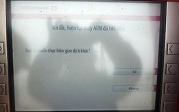 ATM dịp Tết: Vừa rút tiền vừa run