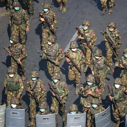 Đảo chính quân sự tại Myanmar