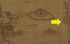 Phóng to 10 lần góc phải của bức tranh cổ, chuyên gia Trung Quốc sửng sốt: Cổ nhân đi trước châu Âu cả 400 năm?
