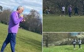 Jose Mourinho nhận lỗi khi tổ chức tập luyện bất chấp Covid-19