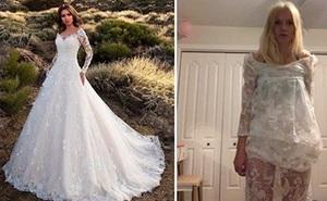 Đặt mua váy cưới online, cô dâu nhận về cái màn tuyn nên chán chẳng muốn lấy chồng nữa