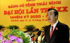 Đồng chí Ngô Đông Hải tái đắc cử Bí thư Tỉnh ủy Thái Bình