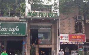 2 thợ hàn xì bất cẩn, tài sản trong khách sạn ở quận 1  TP.HCM bị thiêu rụi