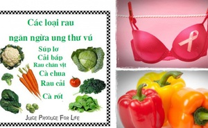 17 thực phẩm ngăn ngừa ung thư vú, giúp vòng 1 khỏe đẹp
