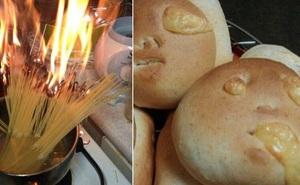 Những khoảnh khắc chứng minh chỉ đam mê nấu nướng thôi vẫn chưa đủ, bạn phải cần tay nghề cao và một chút may mắn nữa!