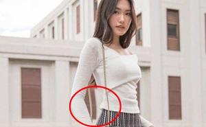 Gái đẹp hot nhất Hoa hậu Việt Nam lộ ảnh bóp eo - kéo chân rõ mồn một, lần này là do 'tai nạn' nghề nghiệp