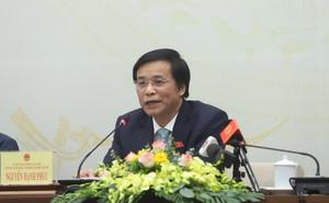 Tổng Thư ký Quốc hội: Chưa nhận được văn bản về việc phê chuẩn, bổ nhiệm Thống đốc NHNN Việt Nam