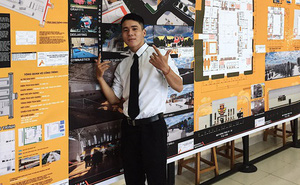 Sinh viên kiến trúc gây choáng với đồ án tốt nghiệp về khu liên hợp Hip-hop Việt Nam