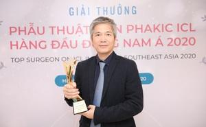 Việt Nam tiếp tục có bác sĩ đoạt giải về phẫu thuật Phakic ICL hàng đầu Đông Nam Á 2020
